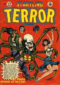 Cover Thumbnail for Startling Terror Tales (Star Publications, 1952 series) #11
