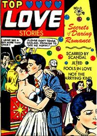 Cover Thumbnail for Top Love Stories (Star Publications, 1951 series) #3