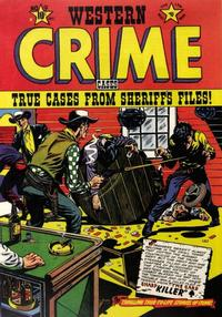 Cover Thumbnail for Western Crime Cases (Star Publications, 1951 series) #9
