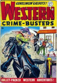 Cover Thumbnail for Western Crime Busters (Trojan Magazines, 1950 series) #1