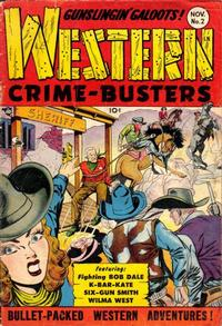 Cover Thumbnail for Western Crime Busters (Trojan Magazines, 1950 series) #2