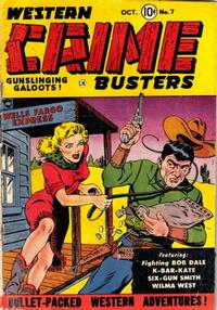 Cover Thumbnail for Western Crime Busters (Trojan Magazines, 1950 series) #7