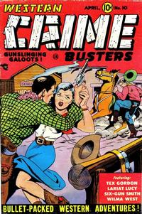 Cover Thumbnail for Western Crime Busters (Trojan Magazines, 1950 series) #10