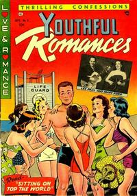 Cover Thumbnail for Youthful Romances (Ribage, 1953 series) #5