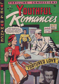 Cover Thumbnail for Youthful Romances (Ribage, 1953 series) #6