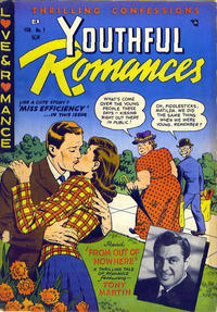 Cover Thumbnail for Youthful Romances (Ribage, 1953 series) #7
