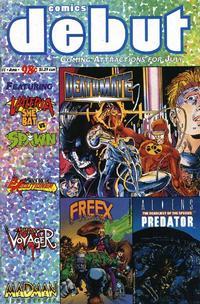 Cover Thumbnail for Comics Debut (Comic Shop News, 1993 series) #1