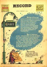 Cover Thumbnail for The Spirit (Register and Tribune Syndicate, 1940 series) #2/3/1946