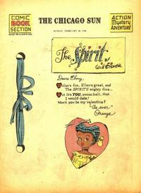 Cover Thumbnail for The Spirit (Register and Tribune Syndicate, 1940 series) #2/10/1946