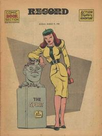 Cover Thumbnail for The Spirit (Register and Tribune Syndicate, 1940 series) #3/17/1946
