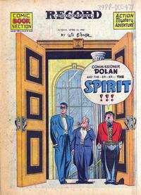 Cover Thumbnail for The Spirit (Register and Tribune Syndicate, 1940 series) #4/14/1946