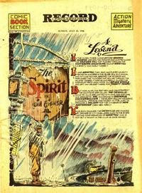 Cover Thumbnail for The Spirit (Register and Tribune Syndicate, 1940 series) #7/21/1946