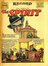 Cover Thumbnail for The Spirit (Register and Tribune Syndicate, 1940 series) #12/2/1945