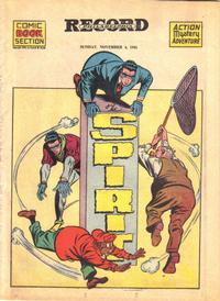 Cover Thumbnail for The Spirit (Register and Tribune Syndicate, 1940 series) #11/4/1945