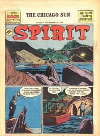 Cover Thumbnail for The Spirit (Register and Tribune Syndicate, 1940 series) #11/11/1945