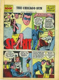 Cover Thumbnail for The Spirit (Register and Tribune Syndicate, 1940 series) #9/2/1945