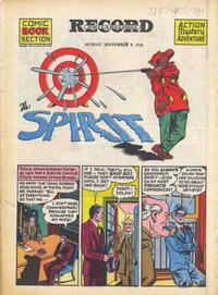 Cover Thumbnail for The Spirit (Register and Tribune Syndicate, 1940 series) #9/9/1945