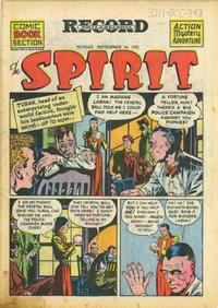 Cover Thumbnail for The Spirit (Register and Tribune Syndicate, 1940 series) #9/16/1945