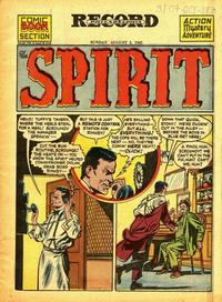 Cover Thumbnail for The Spirit (Register and Tribune Syndicate, 1940 series) #8/5/1945