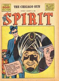 Cover Thumbnail for The Spirit (Register and Tribune Syndicate, 1940 series) #8/12/1945