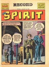 Cover Thumbnail for The Spirit (Register and Tribune Syndicate, 1940 series) #8/26/1945