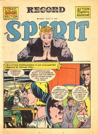 Cover Thumbnail for The Spirit (Register and Tribune Syndicate, 1940 series) #7/8/1945
