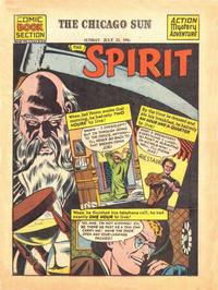 Cover Thumbnail for The Spirit (Register and Tribune Syndicate, 1940 series) #7/15/1945