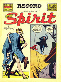 Cover Thumbnail for The Spirit (Register and Tribune Syndicate, 1940 series) #4/1/1945