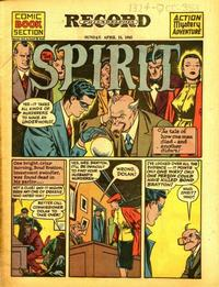 Cover Thumbnail for The Spirit (Register and Tribune Syndicate, 1940 series) #4/15/1945