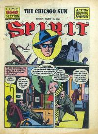 Cover Thumbnail for The Spirit (Register and Tribune Syndicate, 1940 series) #3/25/1945