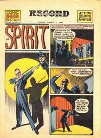 Cover Thumbnail for The Spirit (Register and Tribune Syndicate, 1940 series) #3/11/1945