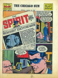 Cover Thumbnail for The Spirit (Register and Tribune Syndicate, 1940 series) #3/18/1945