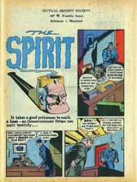 Cover Thumbnail for The Spirit (Register and Tribune Syndicate, 1940 series) #2/4/1945