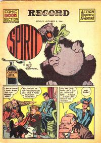 Cover Thumbnail for The Spirit (Register and Tribune Syndicate, 1940 series) #10/8/1944