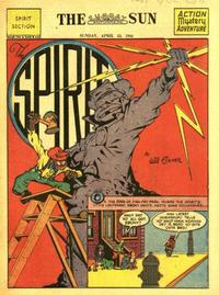 Cover Thumbnail for The Spirit (Register and Tribune Syndicate, 1940 series) #4/23/1944