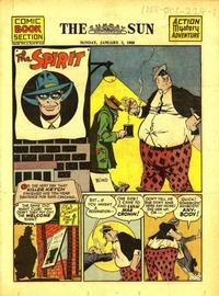Cover Thumbnail for The Spirit (Register and Tribune Syndicate, 1940 series) #1/2/1944