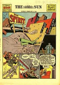 Cover Thumbnail for The Spirit (Register and Tribune Syndicate, 1940 series) #2/6/1944