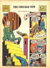 Cover Thumbnail for The Spirit (Register and Tribune Syndicate, 1940 series) #2/20/1944