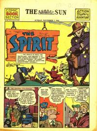 Cover Thumbnail for The Spirit (Register and Tribune Syndicate, 1940 series) #11/7/1943