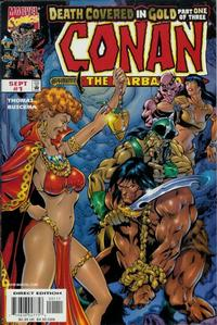Cover Thumbnail for Conan: Death Covered in Gold (Marvel, 1999 series) #1
