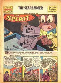 Cover Thumbnail for The Spirit (Register and Tribune Syndicate, 1940 series) #8/29/1943