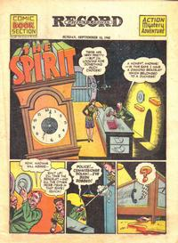 Cover Thumbnail for The Spirit (Register and Tribune Syndicate, 1940 series) #9/12/1943