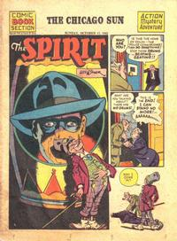 Cover Thumbnail for The Spirit (Register and Tribune Syndicate, 1940 series) #10/17/1943
