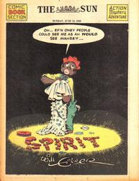 Cover Thumbnail for The Spirit (Register and Tribune Syndicate, 1940 series) #6/13/1943