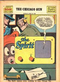 Cover Thumbnail for The Spirit (Register and Tribune Syndicate, 1940 series) #6/20/1943