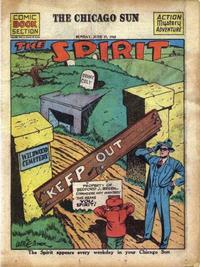 Cover Thumbnail for The Spirit (Register and Tribune Syndicate, 1940 series) #6/27/1943