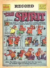 Cover Thumbnail for The Spirit (Register and Tribune Syndicate, 1940 series) #7/11/1943