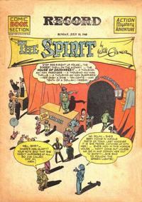 Cover Thumbnail for The Spirit (Register and Tribune Syndicate, 1940 series) #7/18/1943