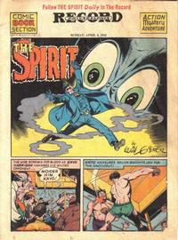 Cover Thumbnail for The Spirit (Register and Tribune Syndicate, 1940 series) #4/4/1943