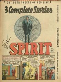 Cover Thumbnail for The Spirit (Register and Tribune Syndicate, 1940 series) #4/11/1943